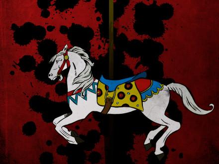 fairground-horse